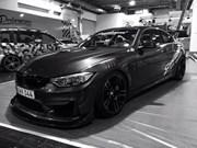 BMW F82 M4 At Essen Motorshow Black White