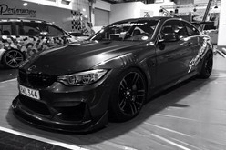 BMW F82 M4 At Essen Motorshow Black White