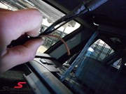 BMW E61trunk Wiring Repair 02