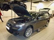 BMW E61 Trunk Wiring Repair17