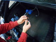 BMW E61 Trunk Wiring Repair15