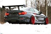 BMW M4 F82 M4 Z Performance Candy Red Winter 02