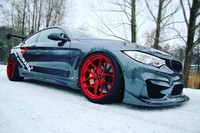 BMW M4 F82 M4 Z Performance Candy Red Winter 01