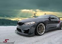 BMW F82 M4 Schmiedmann Sverige Winter