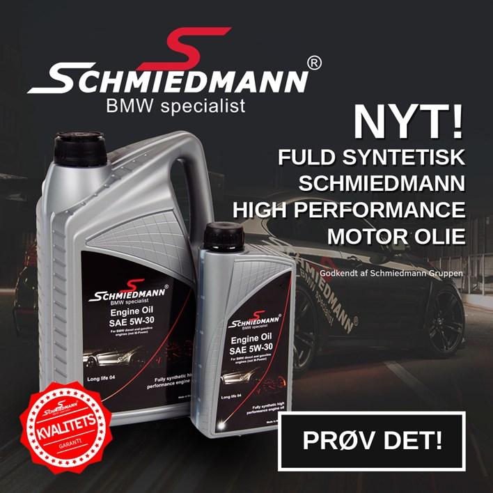 Schmiedmann Oil Newsletter Ad Button Dk