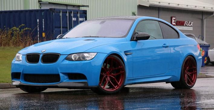 BMW M3 E92 Med 20 Z Performance ZP2 1 Candy Red Schmiedmann Sverige