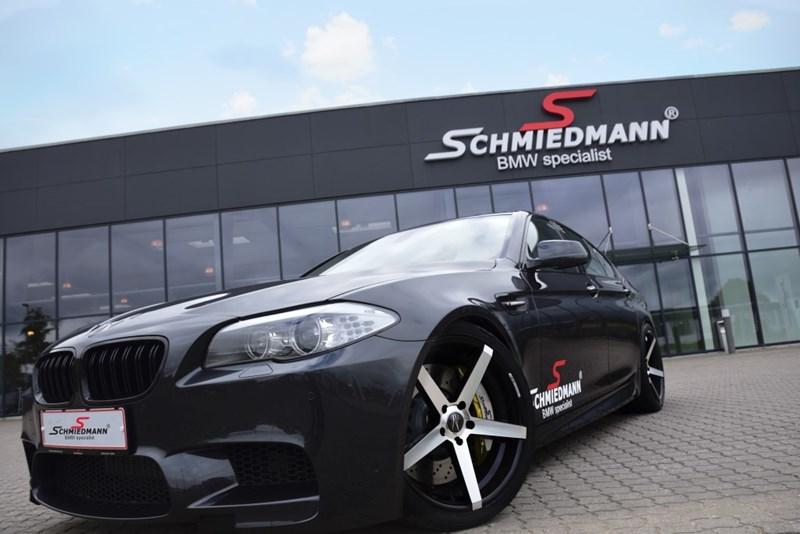 Schmiedmann Bmw F10 550i Schmiedmann S5 From Stock To S5