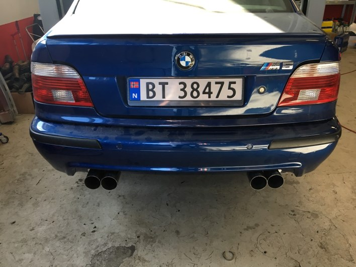E39 M5 Sluttresultat