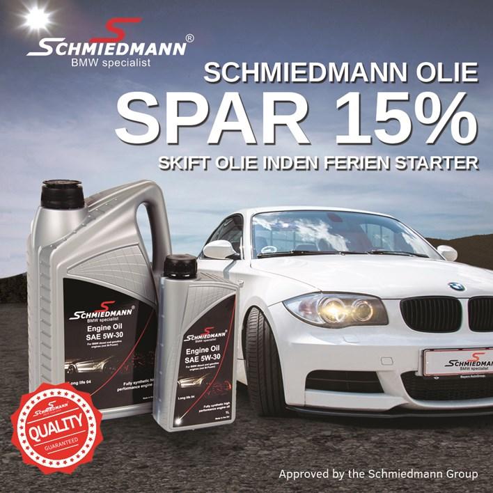 Schmiedmann Olie 15Pct Kvadrat Dk
