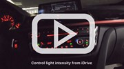 BMW F30 320I Illuminated Ac Trim Cover Video