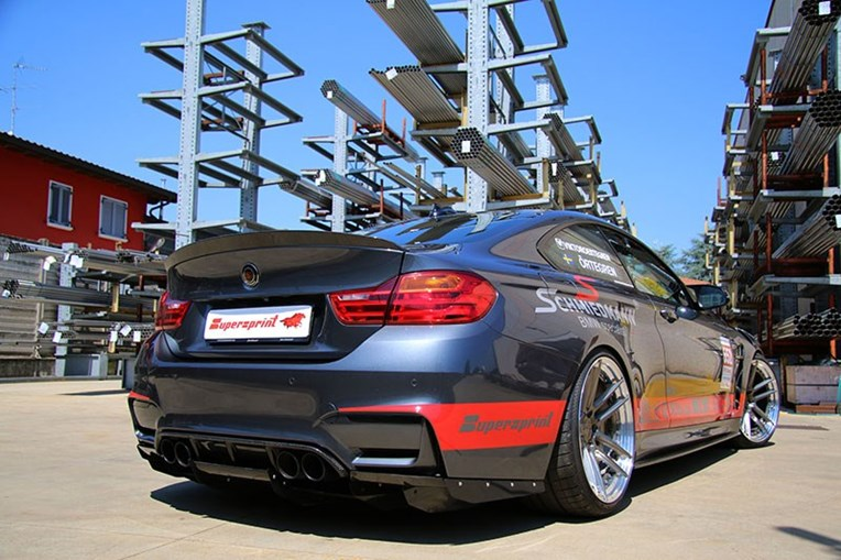 Schmiedmann Sweden BMW M4 F82 Visit Supersprint 01