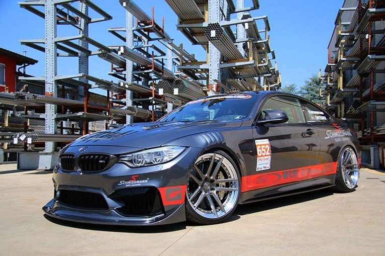 Schmiedmann Sweden BMW M4 F82 Visit Supersprint 02