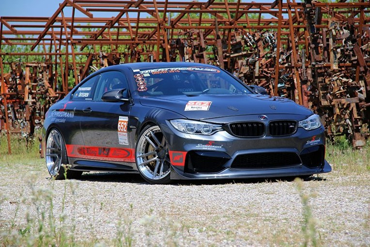 Schmiedmann Sweden BMW M4 F82 Visit Supersprint 04