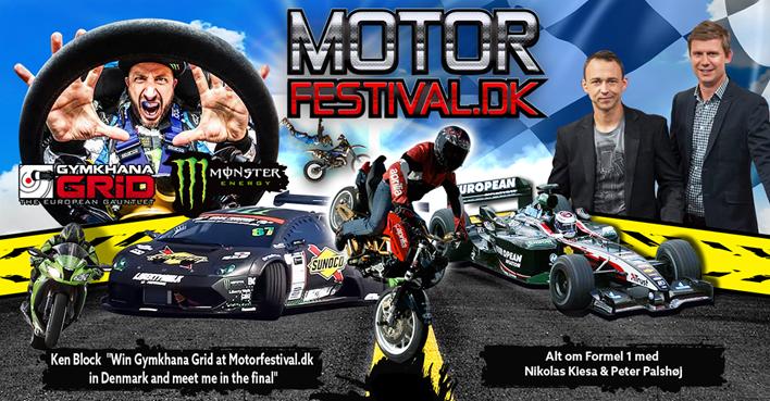 Motorfestival Plakat
