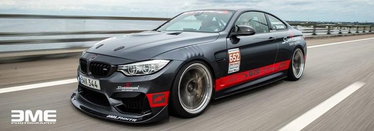 BMW F82 M4 Brigde Banner