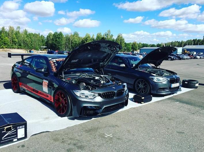 BMW F82 M4 Schmiedmann Sverige New Front Mantorp Park