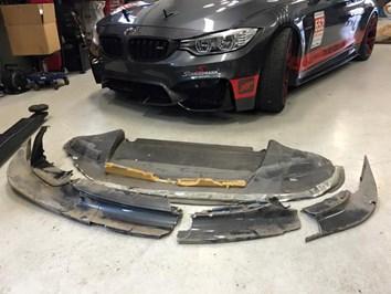 BMW F82 M4 Schmiedmann Sverige Broken Front
