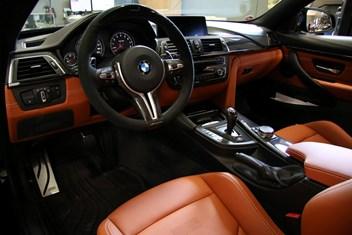 BMW F82 M4 Interior