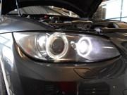 BMW E92 335I Angle Eyes LED Upgrade 4