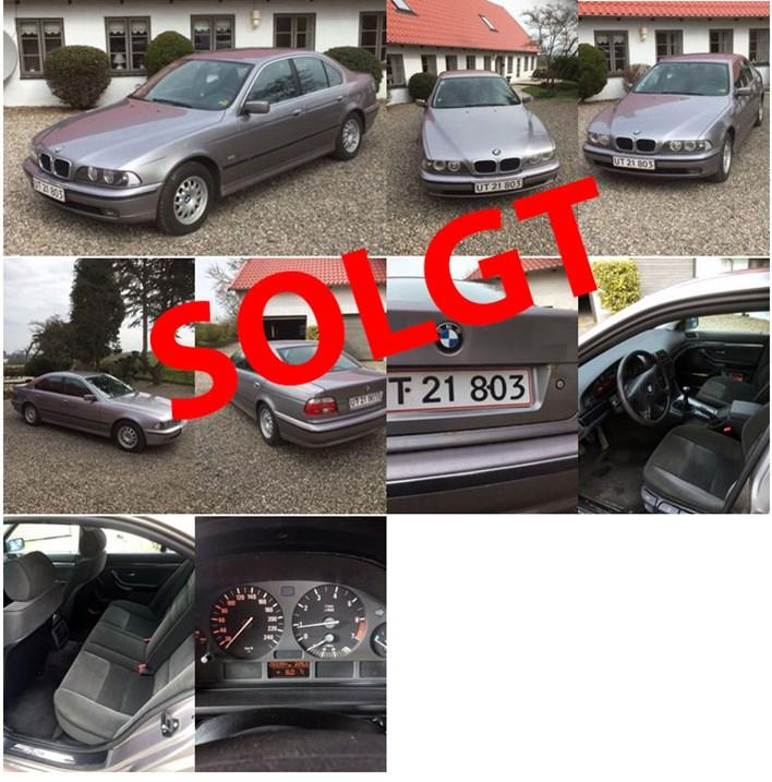 BMW E39 523I Solgt