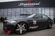 BMW F10 550I Schmiedmann Carbon Streamer 9