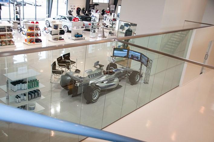 BMW F1 Simulator Schmiedmann Odense