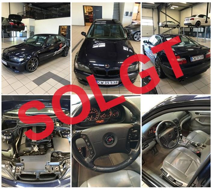 BMW E46 320I Orientblau Sold