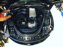 BMW M4 F82 JB4 Supersprint Akrapovic Under