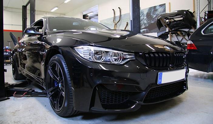 BMW M4 F82 JB4 Supersprint Akraprovic