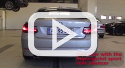 BMW F22 218D 4 Pipe Supersprint Exhaust Video