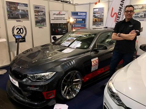 Kenneth Ved BMW M4 Essen Motor Show Schmiedmann