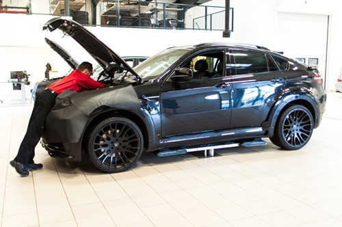 Hamann X5 Faar Aftermarket Twin Turbo Replacement Kit Paa Bmw Vaerksted Schmiedmann Odense 44