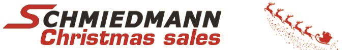 Schmiedmann Christmas Sales