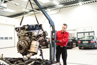 Simon Monterer Motor I BMW 118D 1 Serie M Renoveret Topstykke 1