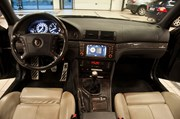 BMW E39 Paa Vaerkstedet Indefra Set Fra Bagsaede