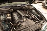 BMW E39 Paa Vaerkstedet Motorrum