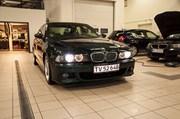 BMW E39 Paa Vaerkstedet Set Forfra M Lys