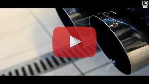 Exhaust Closeup Playbutton BMW Schmiedmann
