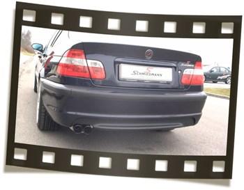 Bmw E46 320I Schmiedmann Exhaust Black Tailpipe Video