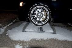 Bremseprøvestand Bil Paa Ruller