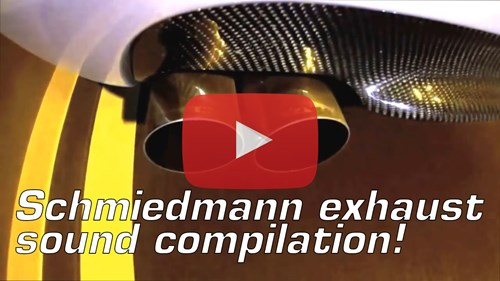 Schmiedmann Exhaust Sound Compilation