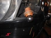 Bmw F46 Black Front Indicators 09