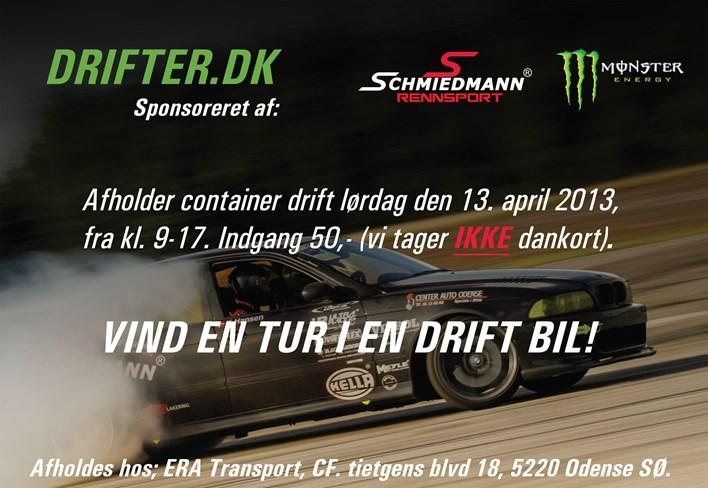 Container Drifter Arrangement 13042013