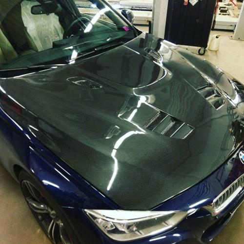 Carbon Motorhjelm BMW F30 335 I Schmiedmann