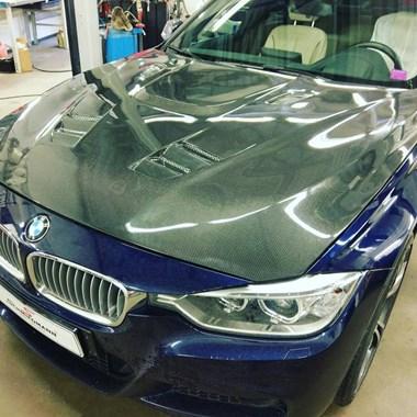 Carbon Motorhjelm BMW F30 335 I Schmiedmann 2