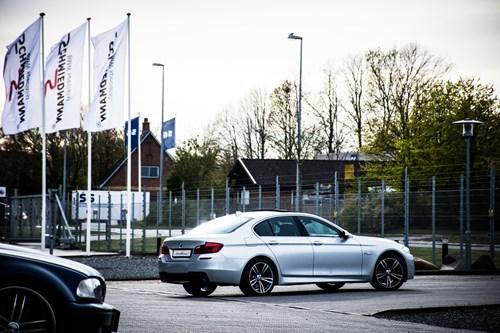 EFTER BMW F10 535I Hybrid M Pakke Spoilersaet Frontspoiler Sideskoerter Og Haekspoiler 4