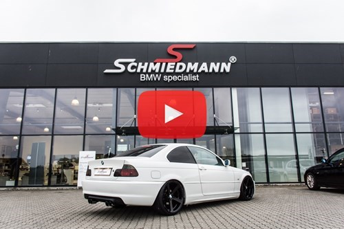BMW E46 323CI Coupe Supersprint M3 Udstoedning M Technic Bagkofanger 22 TB