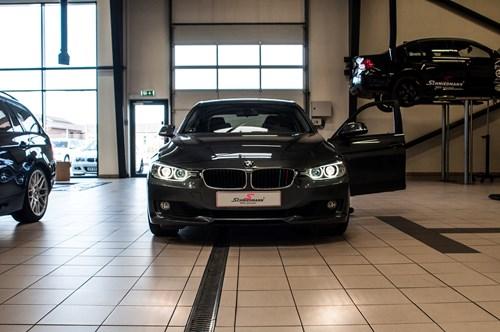 BMW F30 F31 DEPO Angel Eyes Look Halogen Headlights 3