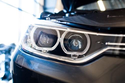 BMW F30 F31 DEPO Angel Eyes Look Halogen Headlights 4