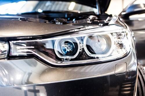 BMW F30 F31 DEPO Angel Eyes Look Halogen Headlights 8